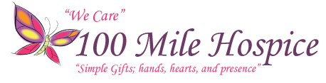 100 Mile House Hospice Logo